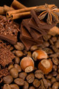Chocolate  ingredients Royalty Free Stock Photo