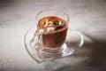 Chocolate Mousse Dessert Royalty Free Stock Photo
