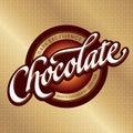 Čokoláda obal dizajn (vektor)