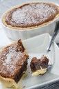 Chocolate pie Royalty Free Stock Photos