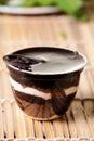 Chocolate pudding Royalty Free Stock Image