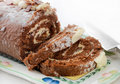 Chocolate Roulade Royalty Free Stock Photo