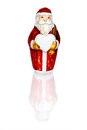 Chocolate Santa Claus Royalty Free Stock Image