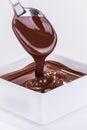 Chocolate sauce Royalty Free Stock Photo