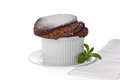 Chocolate Souffle Stock Photos