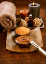 Picture : Chocolate Spa Mask shavings stream