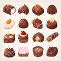 Chocolate sweets box