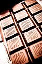 Chocolate tablet Royalty Free Stock Images