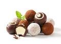 Čokoláda hľuzovky a pralinky