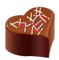 Chocolate,valentine's day Royalty Free Stock Images
