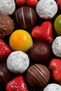 Chocolates Assorted Fotografia de Stock Royalty Free