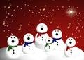 Choir of snowmen