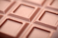 Chokolate background shallow depth of field close up Royalty Free Stock Photos