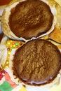 Masa pastel en cocinar proceso relleno y color dulces