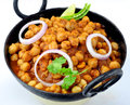 Chole or Channa or Chickpeas Royalty Free Stock Image