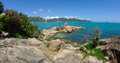 The chong promontory hon chong in nha trang in vietnam a view of Royalty Free Stock Images
