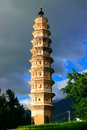The chong san- tower Stock Images