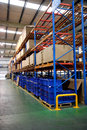 Chongqing Minsheng Logistics Auto Parts Warehouse Royalty Free Stock Photo