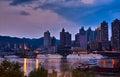 Chongqing port Stock Image