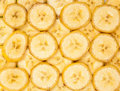 Chopped banana Royalty Free Stock Images