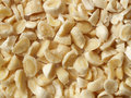 Chopped blanched almonds Stock Photos