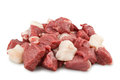 Chopped lamb Royalty Free Stock Photo