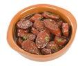 Chorizo al Vino Royalty Free Stock Photo