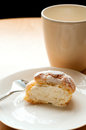Choux cream puffs Royalty Free Stock Photography