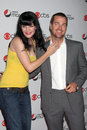Chris o donnell pauley perrette arriving at the cbs fall preveiw party my house club los angeles ca september Royalty Free Stock Photography