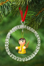 Chrismas angel Royalty Free Stock Photo