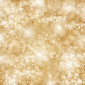 Chrismas background with sparkles golden bright and lights Stock Photos