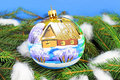 Chrismas ball christmas tree balls beautiful new year decoration Stock Photography