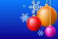 Chrismas balls background Royalty Free Stock Photo