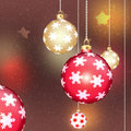 Chrismas balls backgrounds for christmas tree Royalty Free Stock Photography