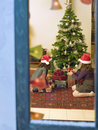 Chrismas window Stock Photography