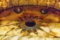 Christ Birth Spot Grotto Church Nativity Bethlehem Palestine Royalty Free Stock Photo