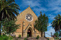Christ church anglican church in castlemaine parish an old gold mining town central victoria australia Stock Photography