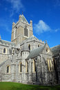 Christ Church Cathedral - Dublin Royalty Free Stock Photo