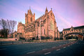 Christ church cathedral dublin ireland is one of the most visited landmark and tourist attraction in Stock Image