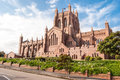 Christ church cathedral newcastle australia Stock Photography