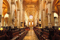Christ church cathedral oxford is the of the diocese of and the chapel of the college Stock Photography