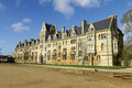 Christ church college oxford oxfordshire uk Stock Image