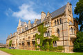 Christ church college oxford uk meadow building at university england Royalty Free Stock Photos