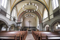 Christ church kassel interior of in germany Stock Image