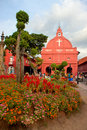 Christ church, Malacca, Malaysia Royalty Free Stock Photo