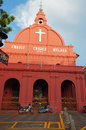 Christ church in malacca photo of malaysia Stock Images