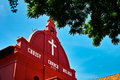 Christ church melaka dutch was built in at the historic city of malaysia Stock Images