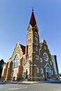 Christ church windhoek namibia christuskirche famous lutheran landmark in Stock Photos