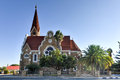 Christ church windhoek namibia christuskirche famous lutheran landmark in Royalty Free Stock Images