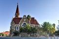 Christ church windhoek namibia christuskirche famous lutheran landmark in Royalty Free Stock Images